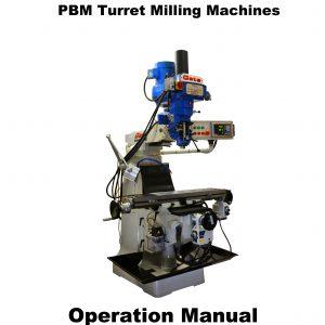 Turret mill Manuals